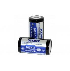 Батерия Xtar 16340, 650mAh-30487